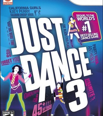 Just Dance 3 created Just Chaos in my house