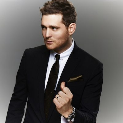 Michael Bublé makes it a Beautiful Day