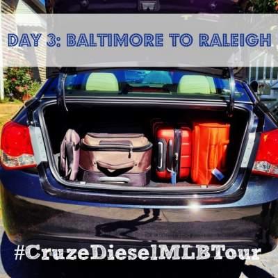 #CruzeDieselMLBTour: Pit Stop in Raleigh