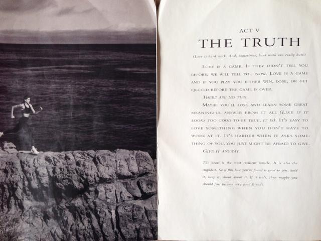 Act V: The Truth