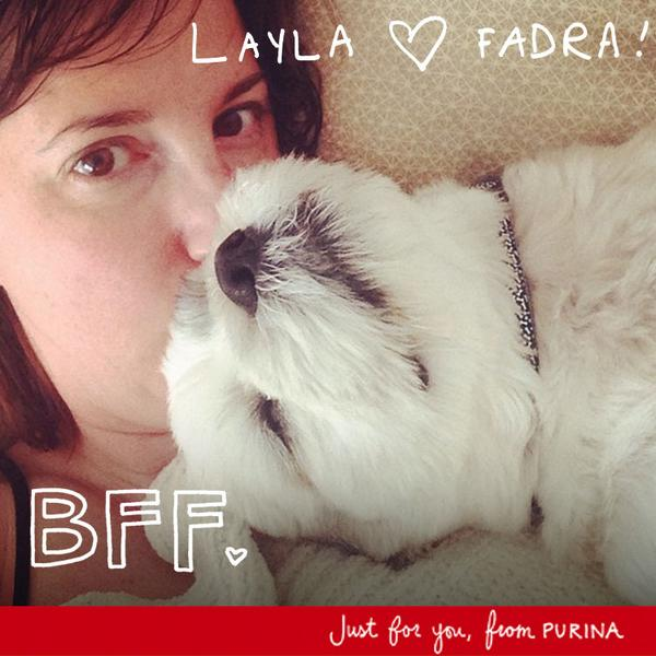 Layla loves Fadra