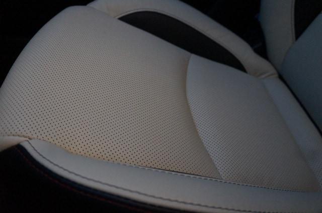 Leather seats Mazda3