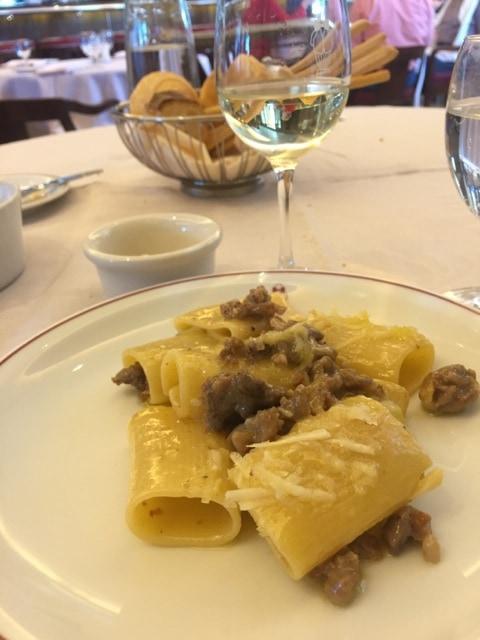 Cipriani sausage pasta