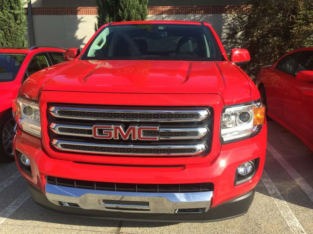 2015 GMC Canyon SLE Crew Long Box