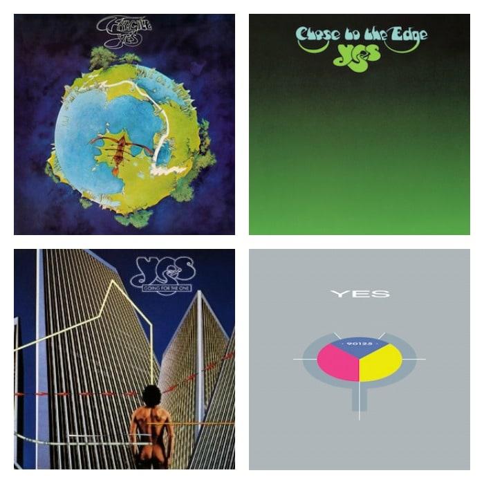 Yes album covers