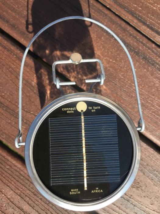 Consol Solar Jar - solar cell