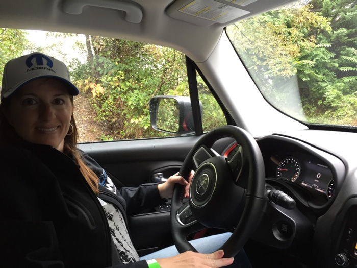 Driving the Jeep Renegade off road