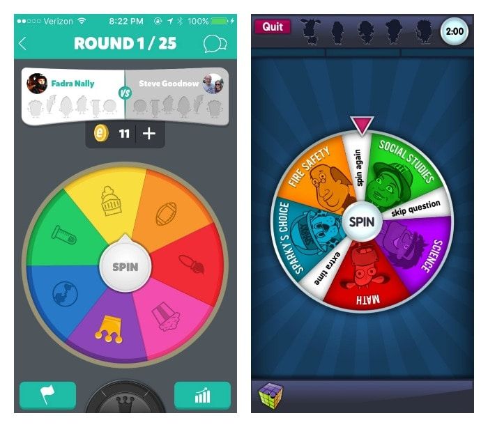 Trivia Crack and Brain Busters