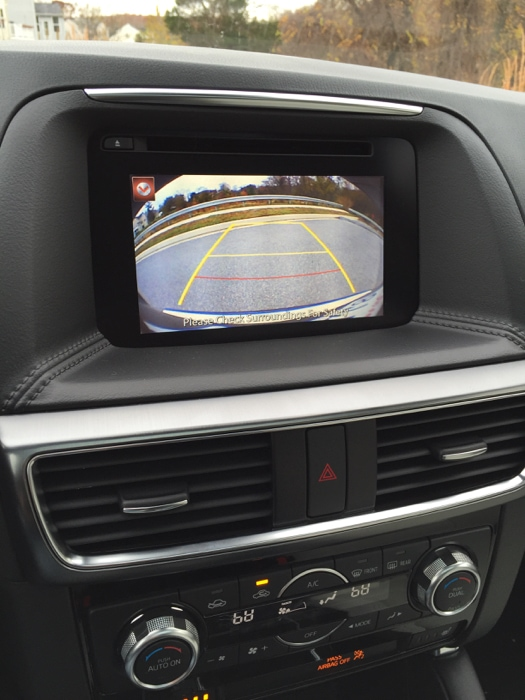 Mazda CX-5 back up camera