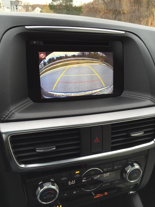 Mazda CX-5 back up camera