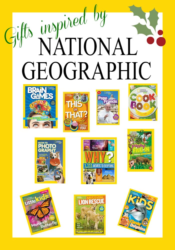 Gifts Inspired by National Geographic