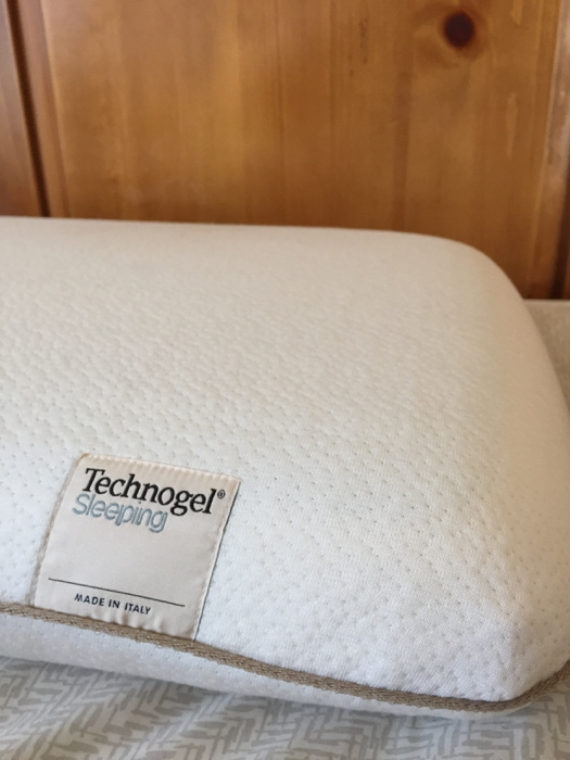 My Technogel pillow, made in Italy