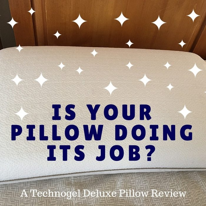 Is your pillow doing its job? A Technogel pillow review
