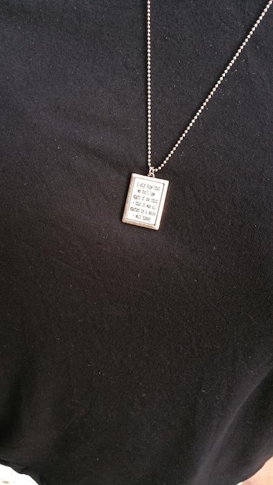 Disney necklace