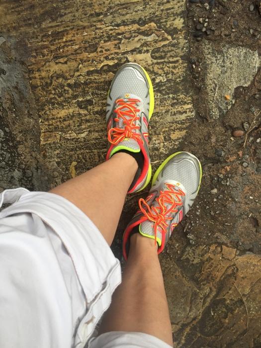 New Balance shoes at Disney