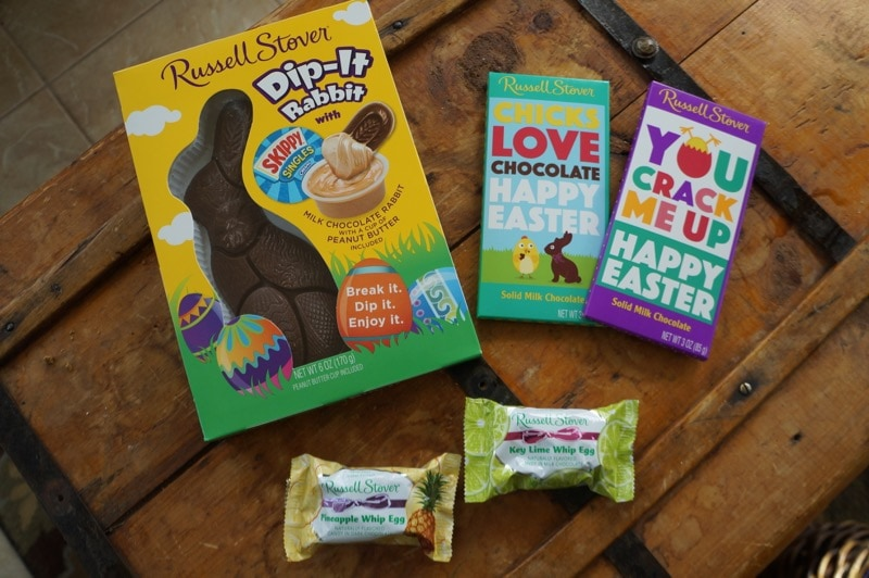 Russell Stover Easter chocolate
