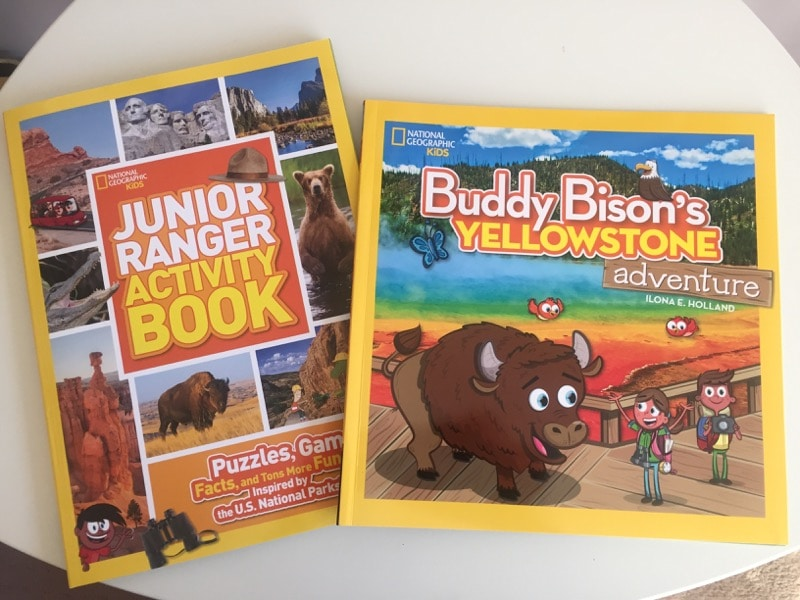 Nat Geo Kids books on National Parks