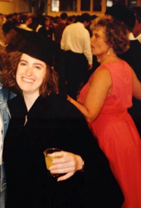 Graduating from CWRU