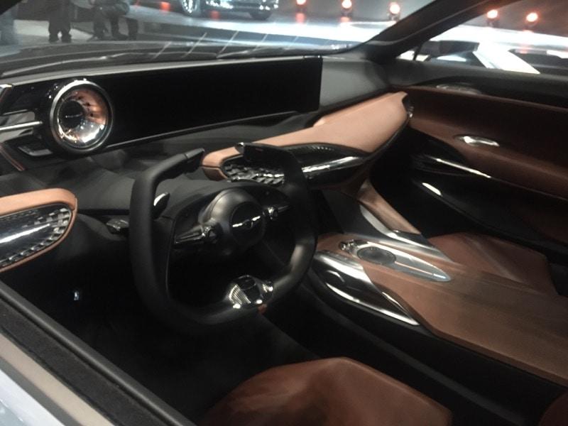Genesis New York concept - interior