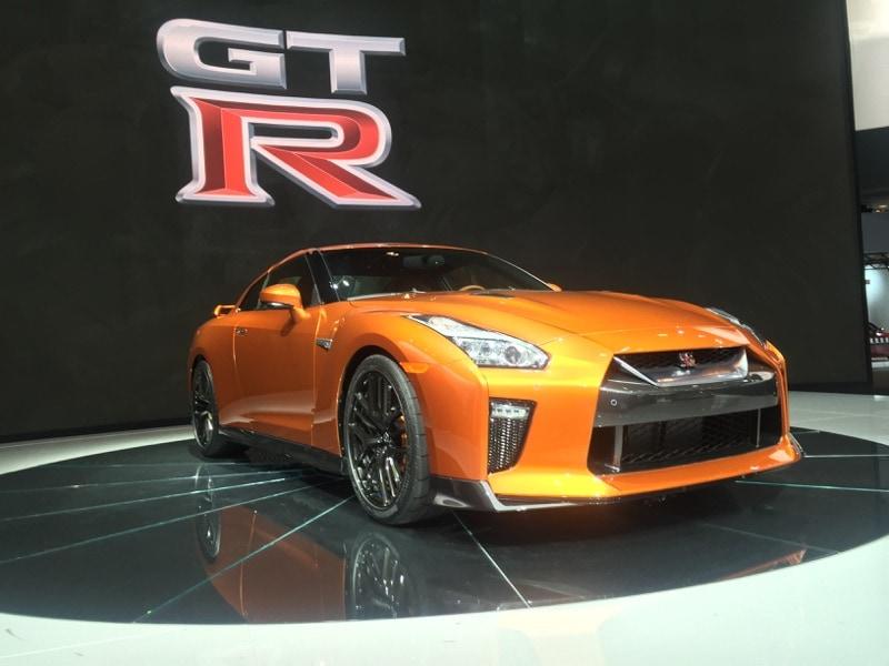 Nissan GTR NYIAS