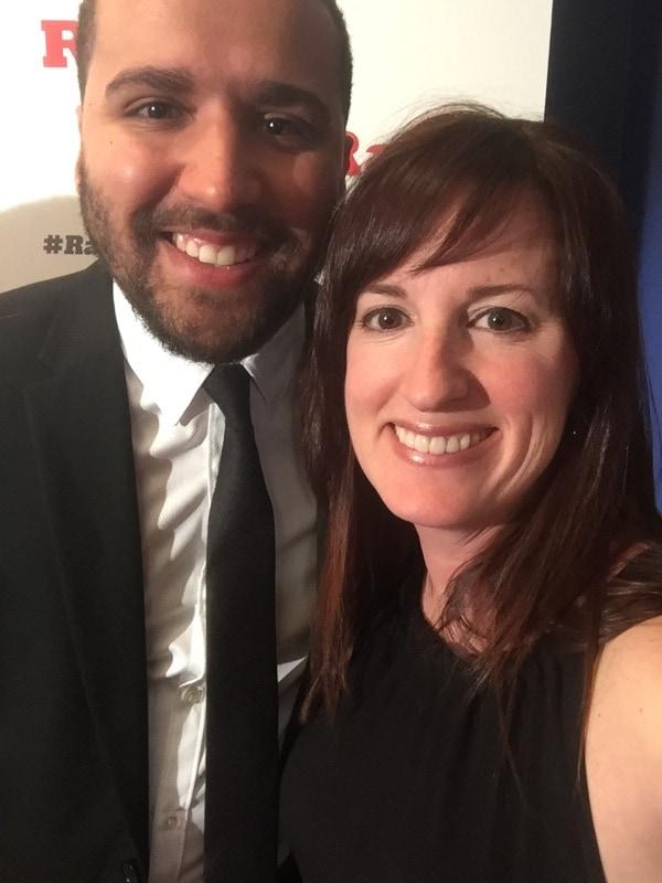 Fadra Nally and Wesley Lowery - Rare Under 40 Awards