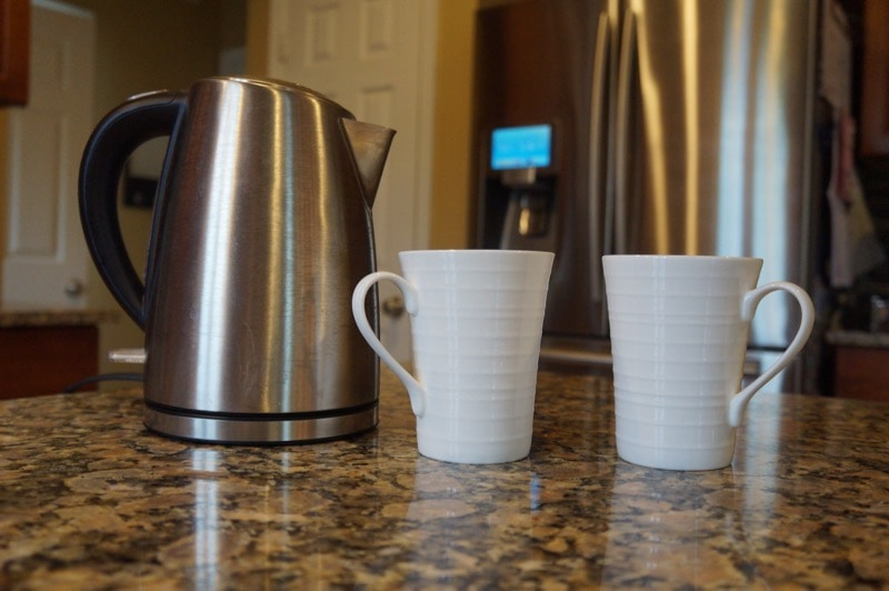 Morning tea kettle