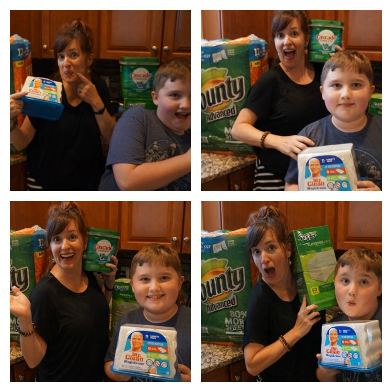 Goofing off with P&G