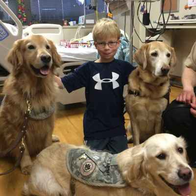 The Purina Family Pet Center is reuniting sick kids and pets