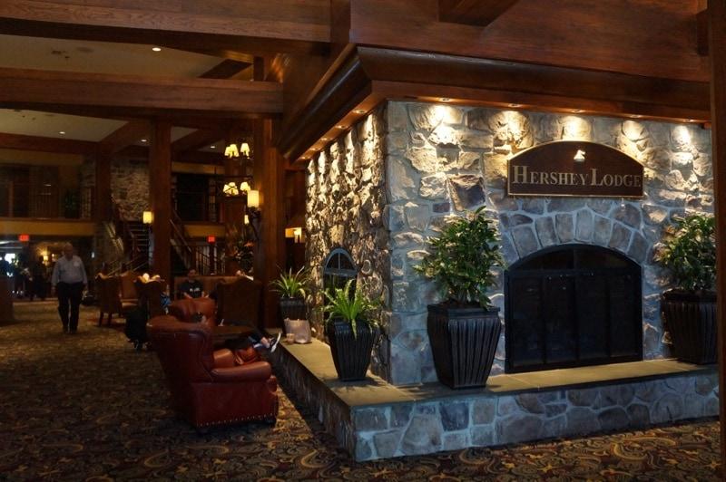 Hershey Lodge lobby