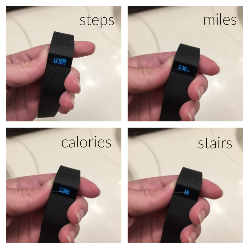 FitBit Charge HR good day