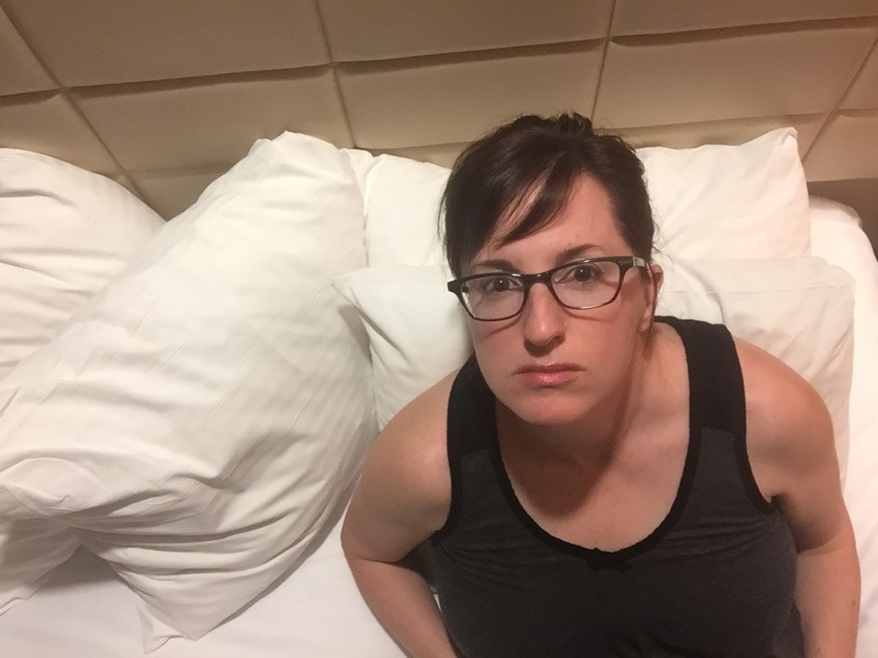 Fadra in glasses