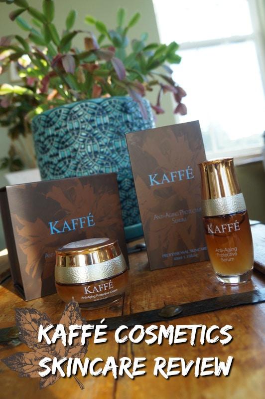 KAFFE COSMETICS SKINCARE REVIEW