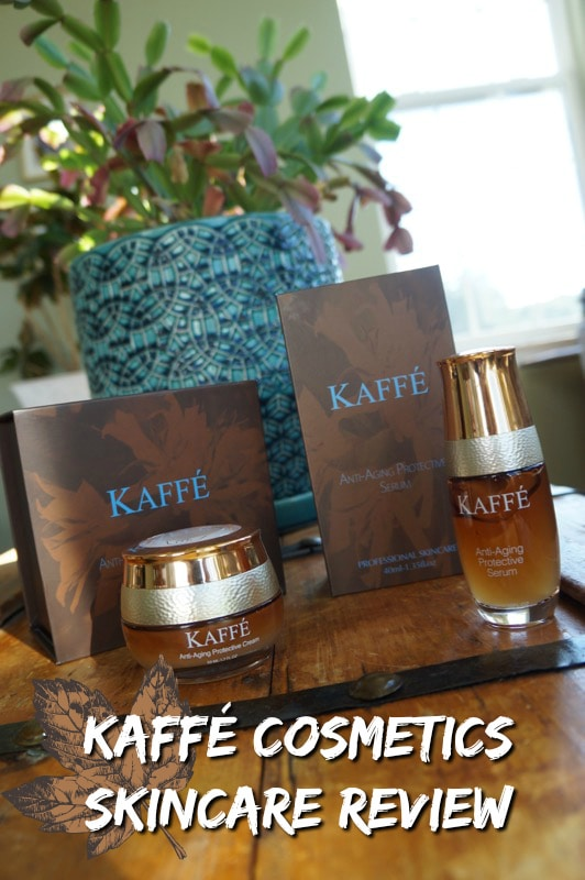 KAFFE COSMETICS SKINCARE REVIEW