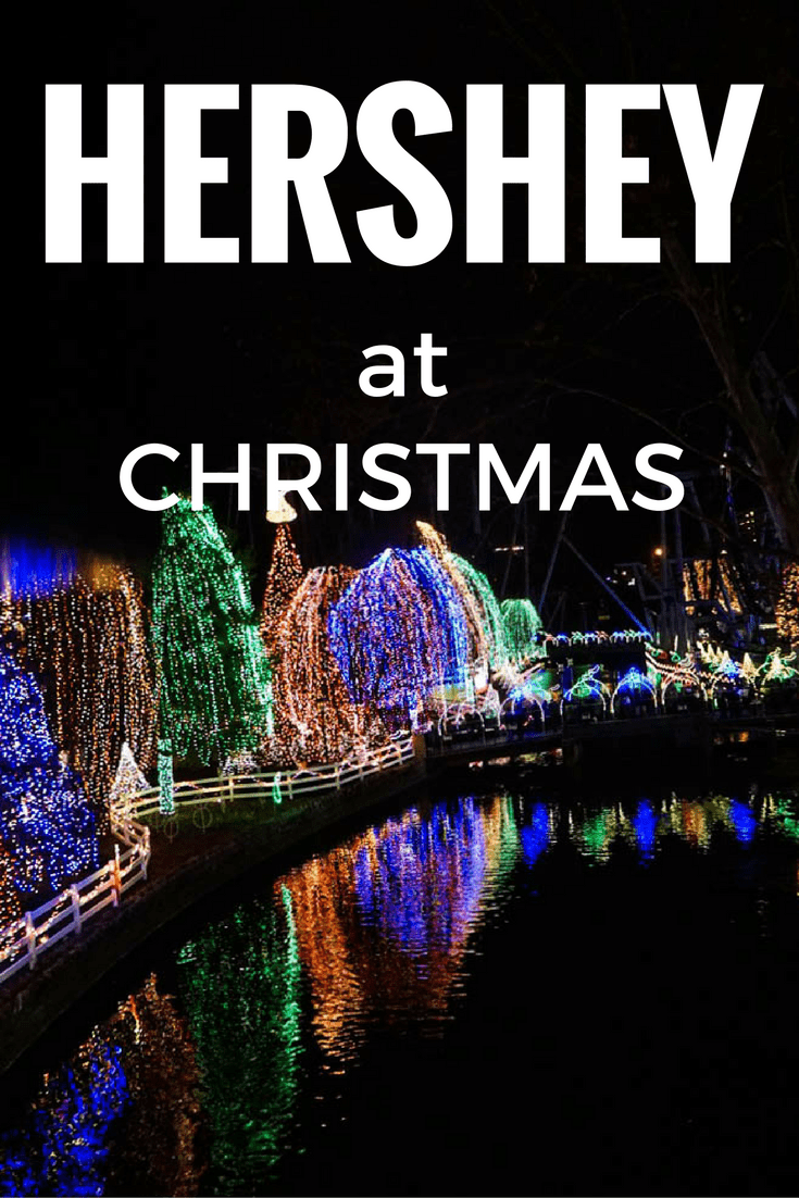 hershey at christmas