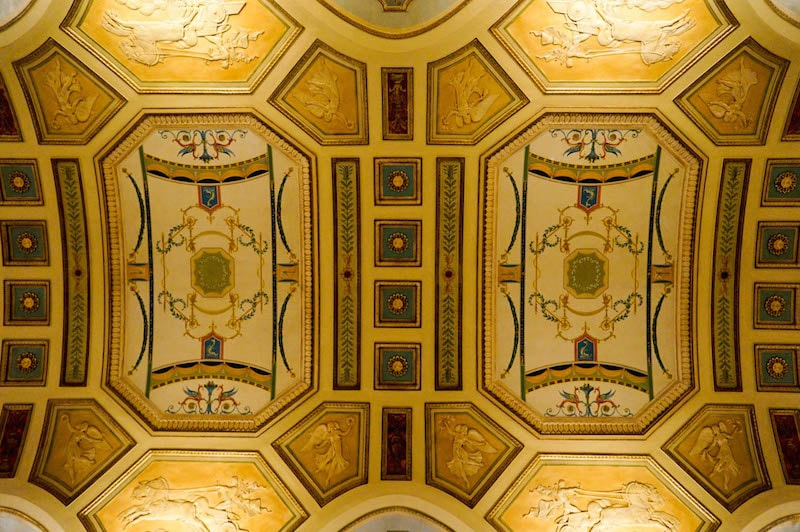 Ceiling details - Hershey Theatre