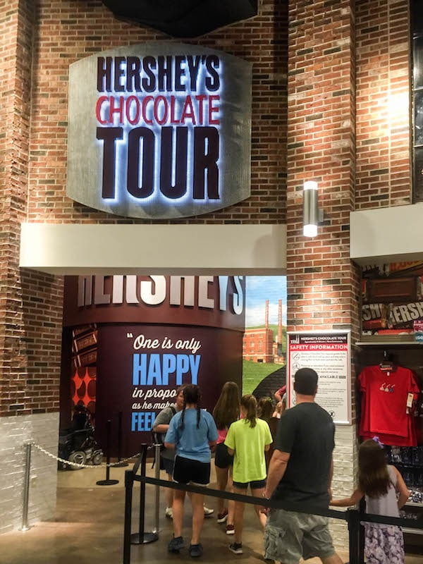Hershey's Chocolate Tour