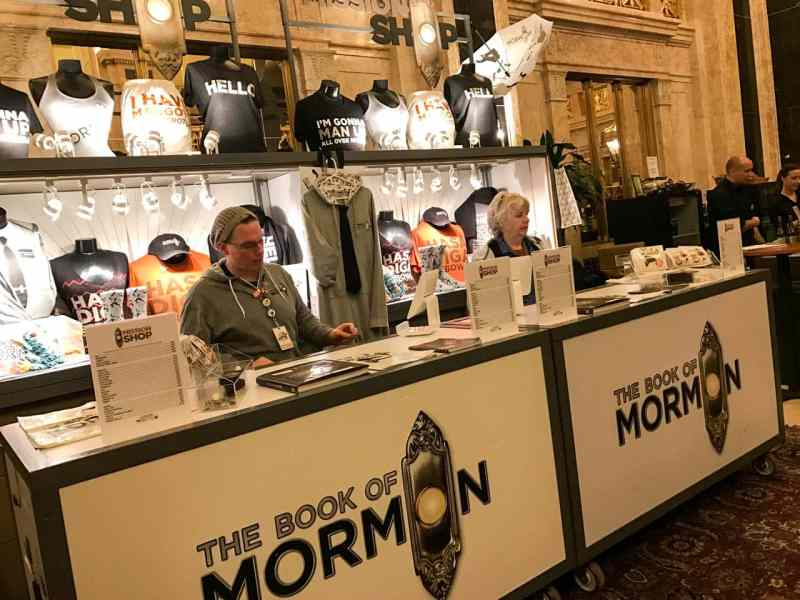 Book of Mormon at Hershey Theatre