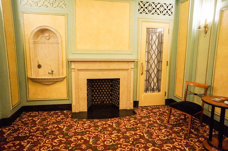 Womens lounge - Hershey Theatre