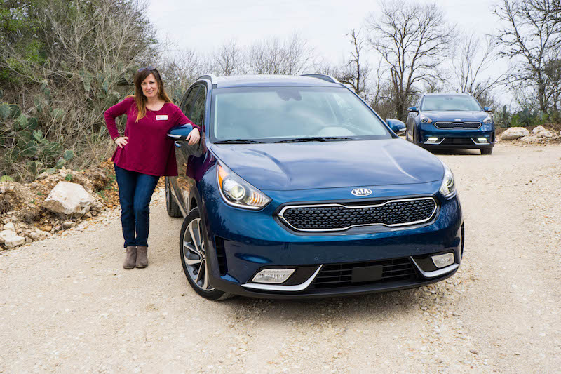 Fadra and the Kia Niro