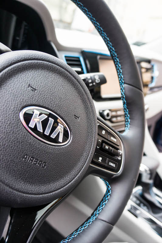 Kia Niro interior trim