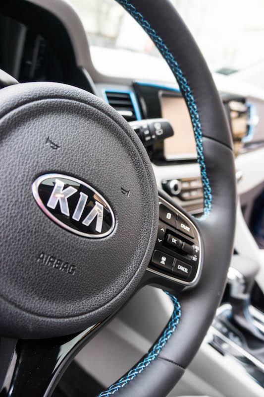 Kia Niro interior trim