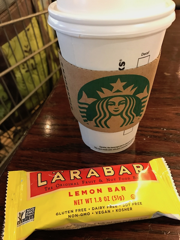 Starbucks and LARABAR