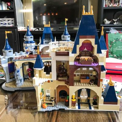 Building the LEGO Disney Castle Bag by Bag