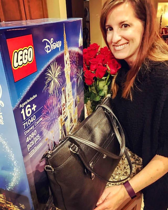 LEGO Disney Castle for my birthday