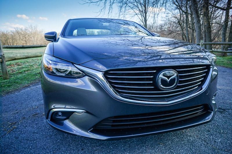 Mazda6 commanding presence