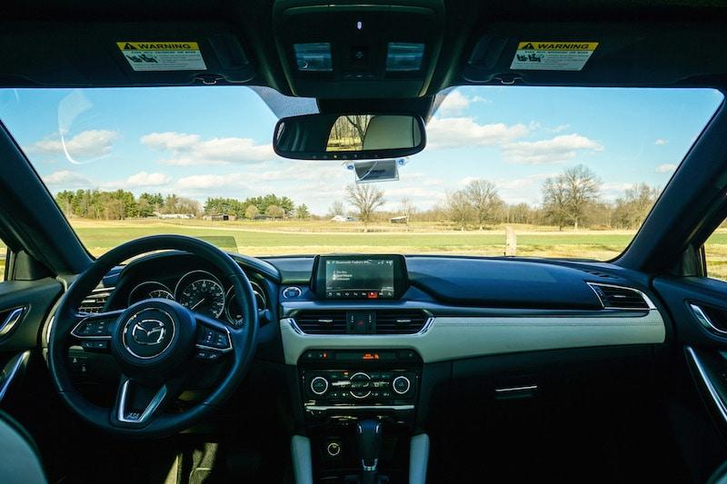 Mazda6 dash