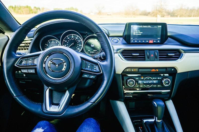 Mazda6 dashboard