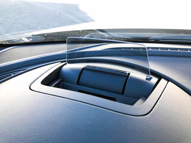 Mazda6 heads-up display