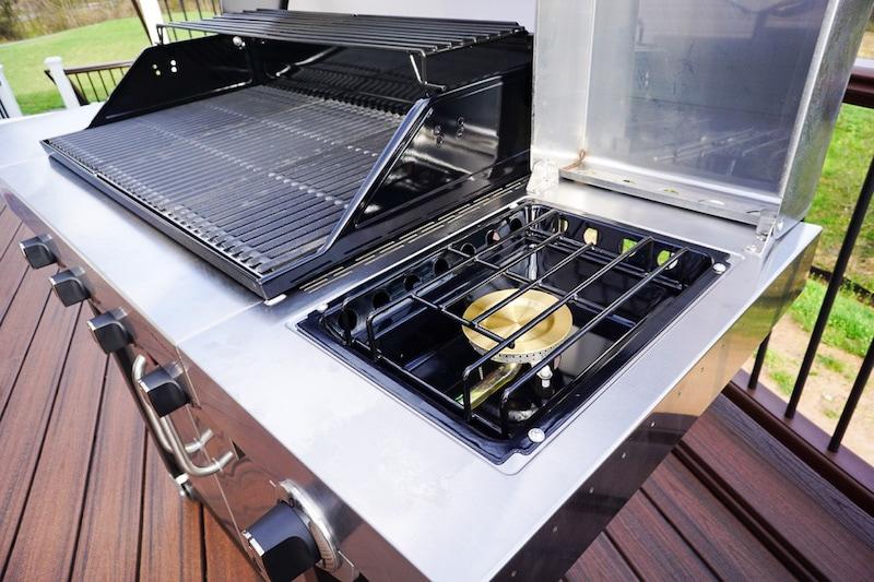 Char-Broil side burner