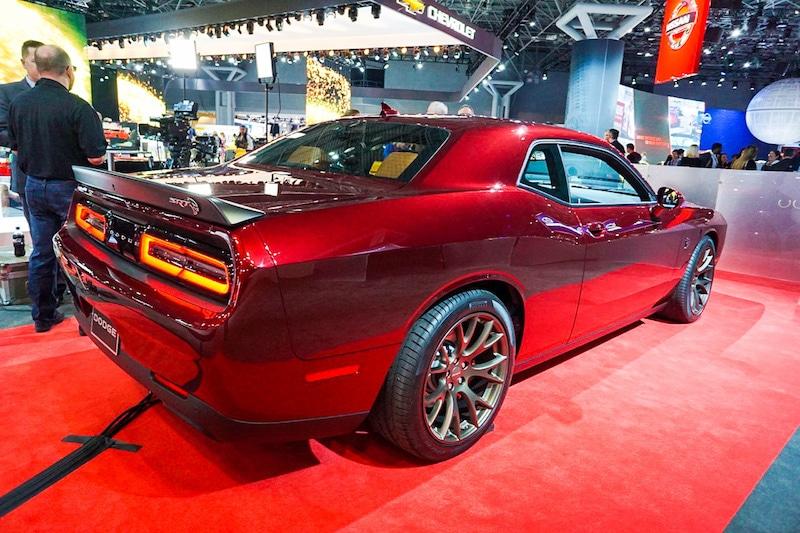 Dodge Demon rear